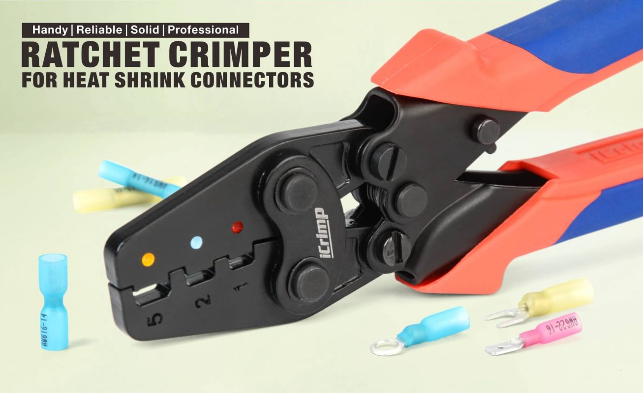 ICP-125 heat shrink crimper