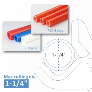 iCrimp PPR PEX Pipe Cutter